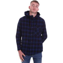 Vêtements Homme Chemises manches longues Antony Morato MMSL00636 FA410149 Bleu