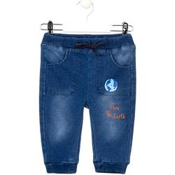 Vêtements Fille Jeans slim Losan 027-6017AL Bleu
