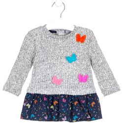 Vêtements Fille Robes courtes Losan 028-7015AL Gris