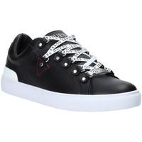 Chaussures Homme Baskets basses Guess FM5BAR LEA12 Noir