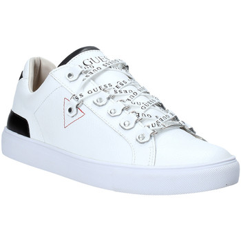 Chaussures Homme Baskets basses Guess FM5BAR LEA12 Blanc