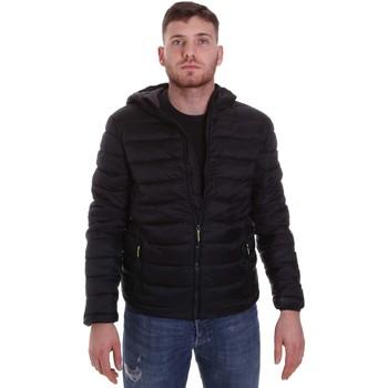 Vêtements Homme Doudounes Lumberjack CM95222 001 416 Noir