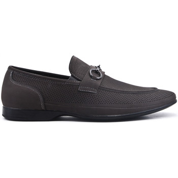 Chaussures Mocassins Uomo Design Mocassin Homme - Marco gris fonce