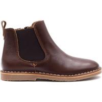 Chaussures Enfant Boots Boni & Sidonie Boots à ZIP en cuir - THAIS Marron