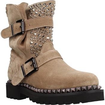 Chaussures Femme Bottines Alma En Pena I20531 Brun