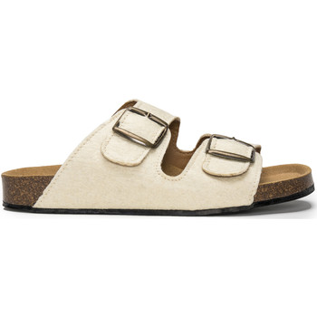 Chaussures Mules Peta Collab Green Darco_Pinatex_White Blanc
