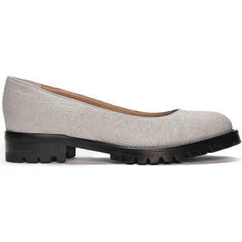 Chaussures Femme Derbies Nae Vegan Shoes Lili_Grey_Pinatex Gris