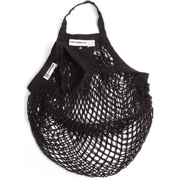 Sacs Cabas / Sacs shopping Nae Vegan Shoes Turtle_Bag_Black Noir
