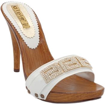 Chaussures Femme Chaussures de Skate Gioie Italiane M7166 Blanc