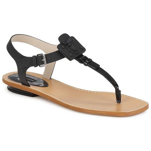 Chaussures Femme Sandales et Nu-pieds Marc Jacobs CHIC CALF Noir