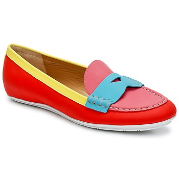 Chaussures Femme Mocassins Marc Jacobs SAHARA SOFT CALF Multicolore