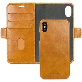 Sacs Housses portable Dbramante1928 Lynge Leather Wallet iPhone X / XS Tan Marron