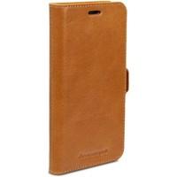 Sacs Housses portable Dbramante1928 Lynge Leather Wallet iPhone XS Max Tan