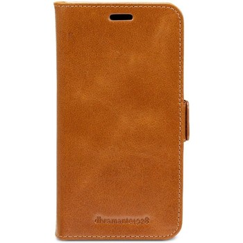 Sacs Housses portable Dbramante1928 Lynge Leather Wallet iPhone XR Tan