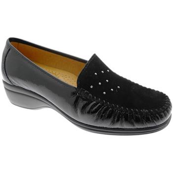 Chaussures Femme Mocassins Calzaturificio Loren LOK4020ne nero