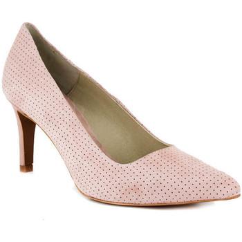 Chaussures Femme Escarpins Loca Lova INDEPENDANTE MID PINK ROSE Rose