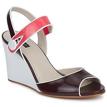 Sandale Marc Jacobs VOGUE GOAT Bordeaux / Rose 350x350