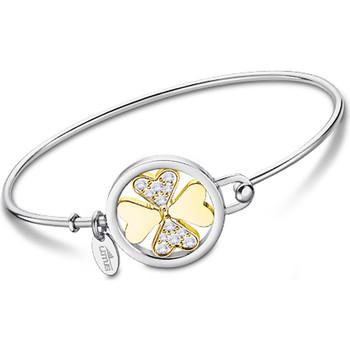 Montres & Bijoux Femme Bracelets Lotus Bracelet jonc  acier bicolore trèfle Multicolore