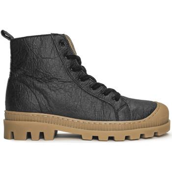 Chaussures Boots Nae Vegan Shoes Noah_Pinatex_Black Noir