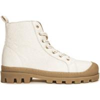 Chaussures Boots Nae Vegan Shoes Noah_Pinatex_White Blanc