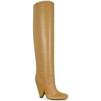 Chaussures Femme Cuissardes Balmain  Marron