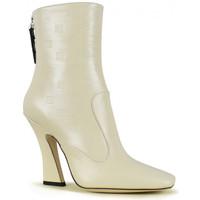 Chaussures Femme Bottines Vintage  Blanc