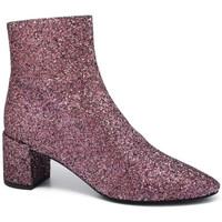 Chaussures Femme Bottines Saint Laurent  Rose