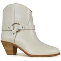 Chaussures Femme Bottines Francesco Russo  Beige