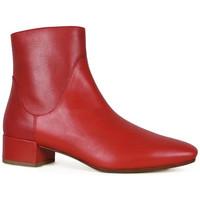 Chaussures Femme Bottines Francesco Russo  Rouge