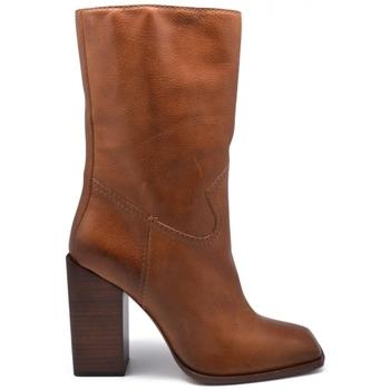 Chaussures Femme Bottines Saint Laurent  Camel