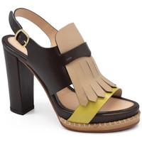 Chaussures Femme Sandales et Nu-pieds Santoni  Marron