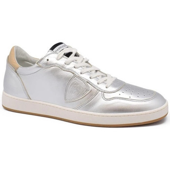 Chaussures Homme Baskets basses Philippe Model  Argent