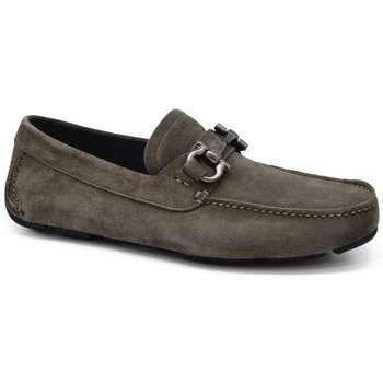 Chaussures Homme Mocassins Salvatore Ferragamo  Gris