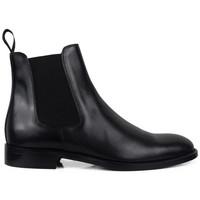 Chaussures Homme Bottes Alberto  Noir