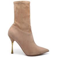 Chaussures Femme Bottes Valentino Garavani  Beige
