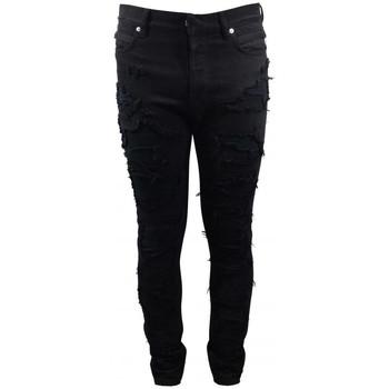 Vêtements Enfant Jeans Balmain  Noir