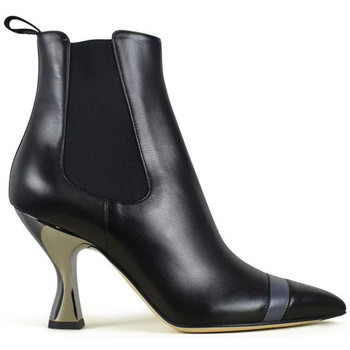 Chaussures Femme Bottes Vintage  Noir