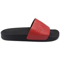 Chaussures Homme Claquettes Balmain  Rouge