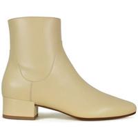 Chaussures Femme Bottes Francesco Russo  Beige