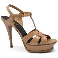 Chaussures Femme Sandales et Nu-pieds Saint Laurent  Beige