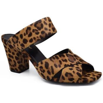 Chaussures Femme Sandales et Nu-pieds Saint Laurent  Marron
