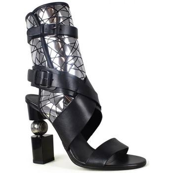Chaussures Femme Sandales et Nu-pieds Balmain  Noir