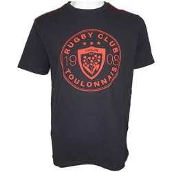 Vêtements Homme T-shirts & Polos Rct Tee-Shirt rugby homme Rugby Cl Noir