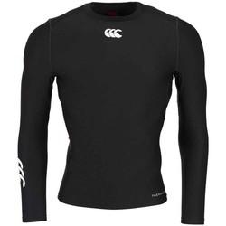 Vêtements T-shirts & Polos Canterbury Baselayer rugby Thermoreg - Ca Noir
