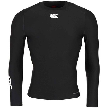 Vêtements T-shirts & Polos Canterbury Baselayer rugby Thermoreg - Ca Noir