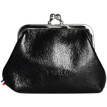 Sacs Femme Porte-monnaie Etrier Porte-monnaie Etincelle cuir ETINCELLE IRISEE 080-0EETI654 NOIR(E)