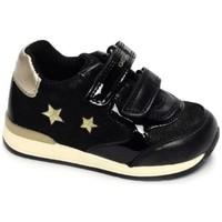 Chaussures Fille Baskets basses Geox Basket b rishon g a Noir