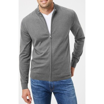 Vêtements Homme Pulls Kebello Pull cardigan zip Taille : H Gris M Gris