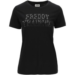 Vêtements Femme T-shirts manches courtes Freddy - T-shirt nero F0WTRT1-N NERO