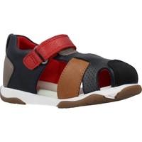 Chaussures Garçon Sandales et Nu-pieds Garvalin 202335 Bleu